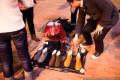 Китайские дисковые щетки и другие инструменты продают на улицах