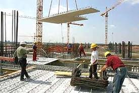 В строительстве стадиона